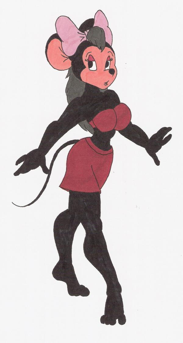sexy minnie mouse cartoon