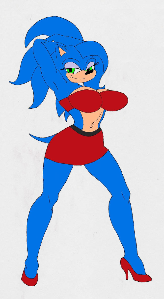 Sonic Female by 4398