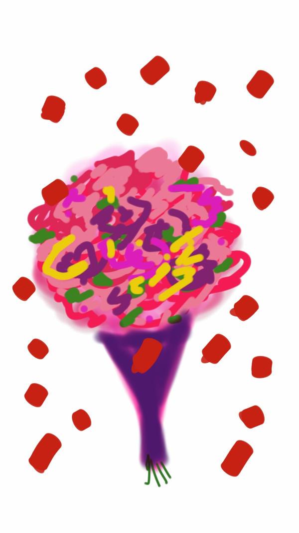 Bara roses by krutiebabie