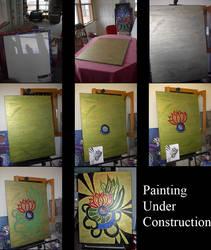 Painting Progression I by bakafox