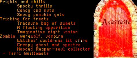 Halloween Night - Terri Guillemets
