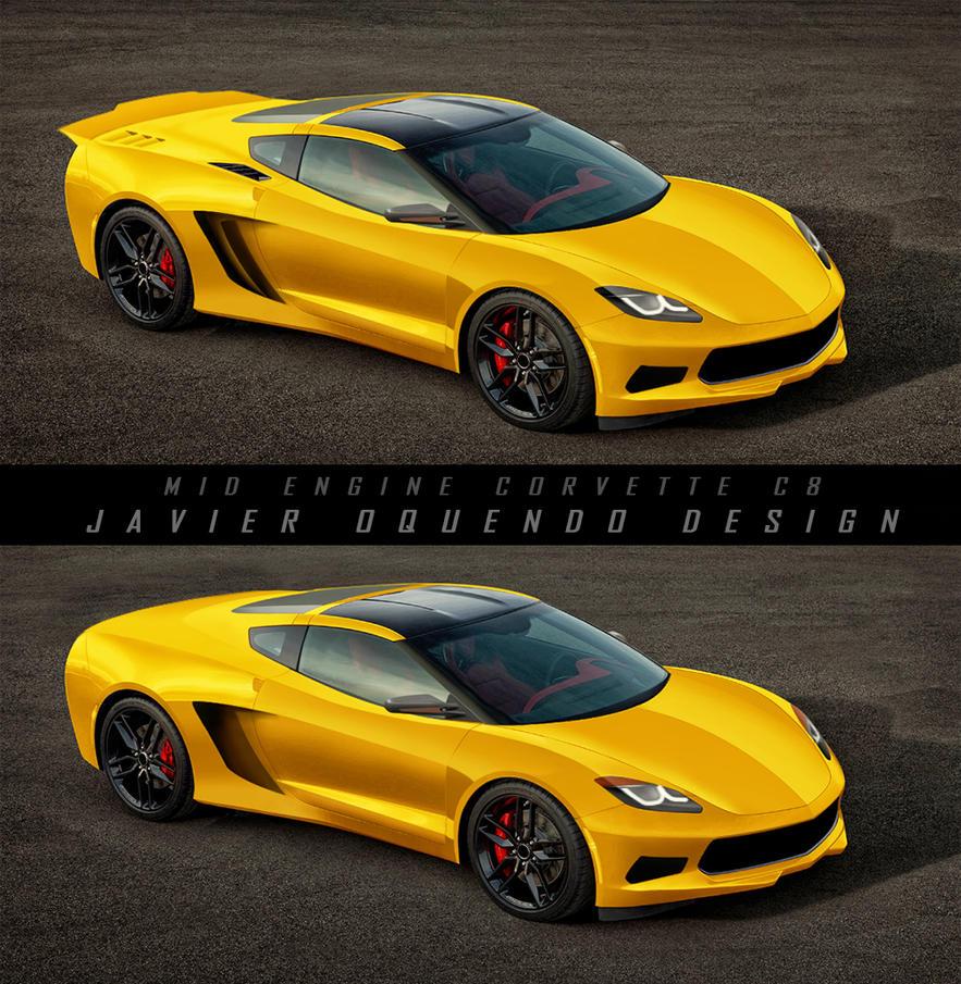 Corvette C8 Concept By Javieroquendodesign On DeviantArt