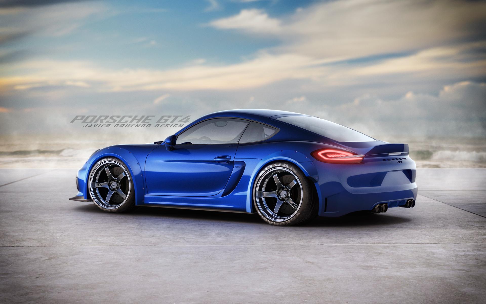 Porsche Cayman GT4 by javieroquendodesign on DeviantArt