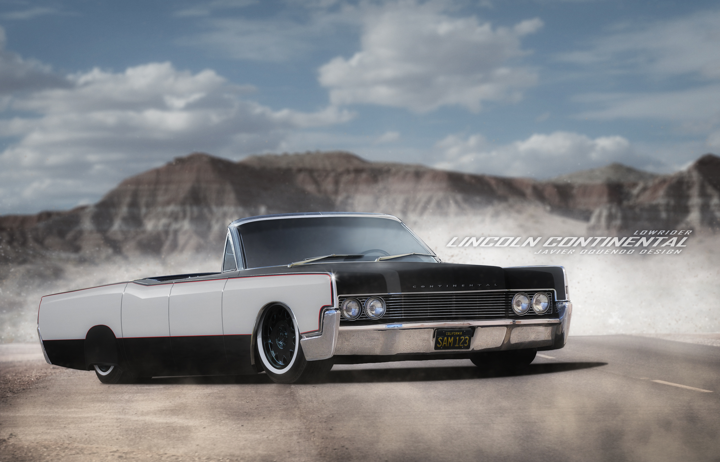 1969 lincoln continental lowrider by javieroquendodesign on deviantart. Black Bedroom Furniture Sets. Home Design Ideas