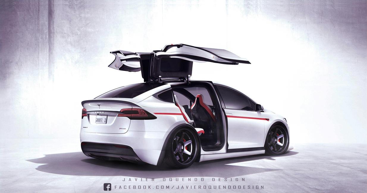 Pubg By Sodano On Deviantart: Tesla Model X By Javieroquendodesign On DeviantArt