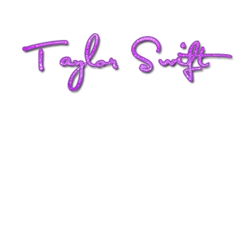 Letra Taylor Swift Png by Qkattalynaa on DeviantArt