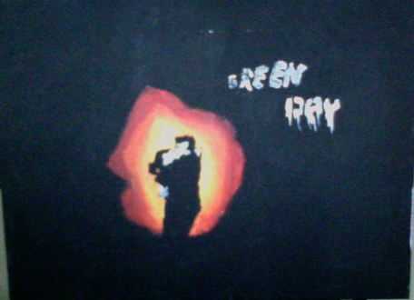 21st Century Breakdown painting by fieldhockeywolf