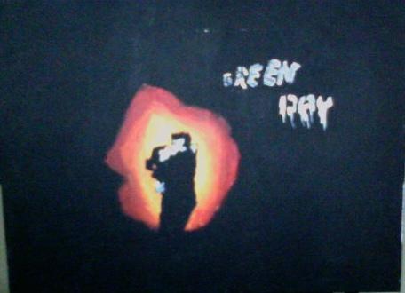 21st Century Breakdown painting by fieldhockeywolf