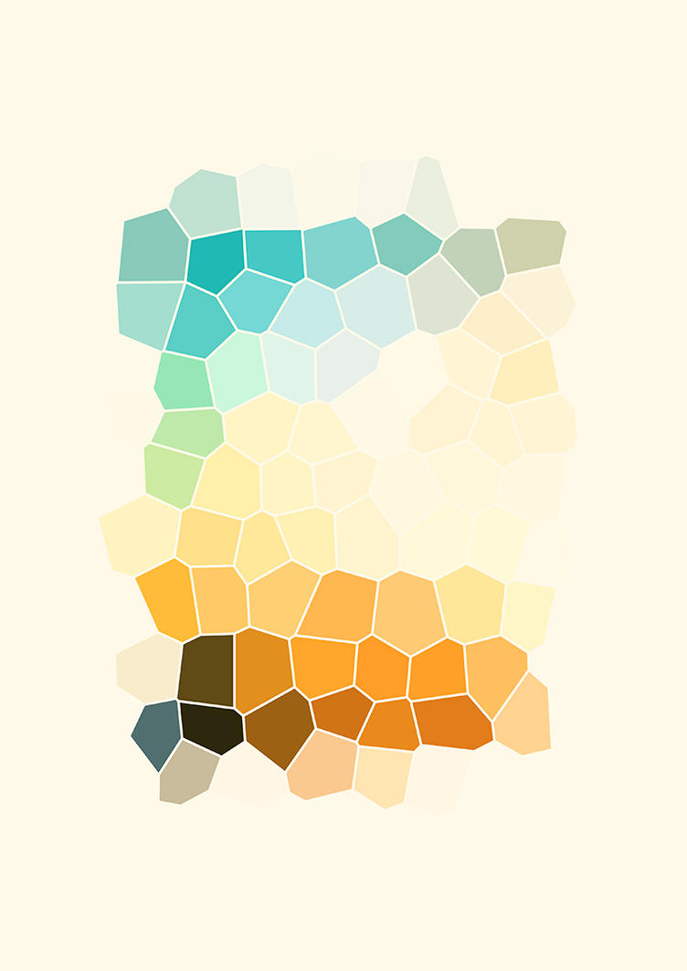 Colour Shapes by sentimentalfreak