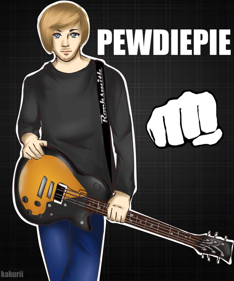 PewDie: Rocksmith by vaunu