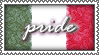 Italian Pride Stamp by ricordarelamore
