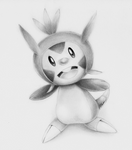 Chespin Drawing - Pokemon X Y