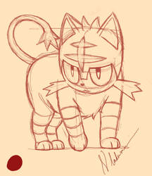 Litten Sketch by ErnestoVladimir