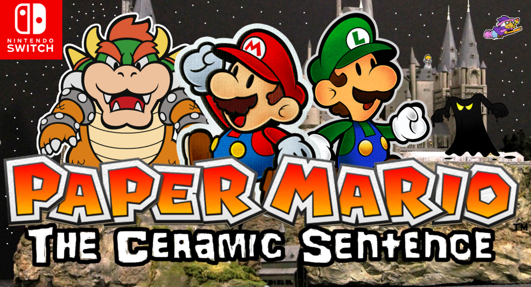 Paper Mario: The Ceramic Sentence (Mockup leak) by Papermariofan1 on