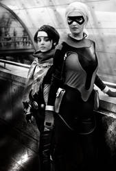 Models Of Cosplay Shooter N''10 Noir et Blanc by Appossai