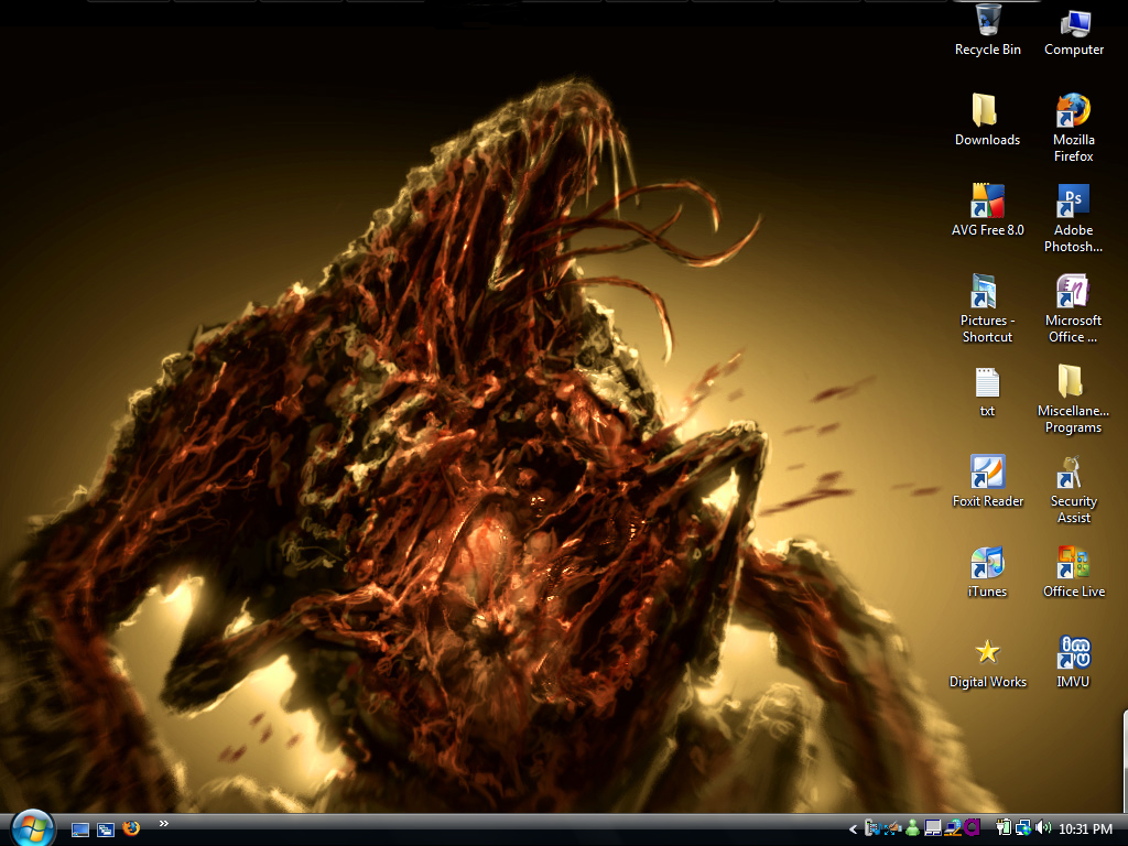 Dead Space Desktop by LiliumxRose