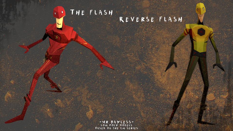 TheFlash v ReverseFlash by Saiyanlink