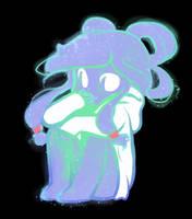 Korra Galaxy Person Adopt by Owlhana
