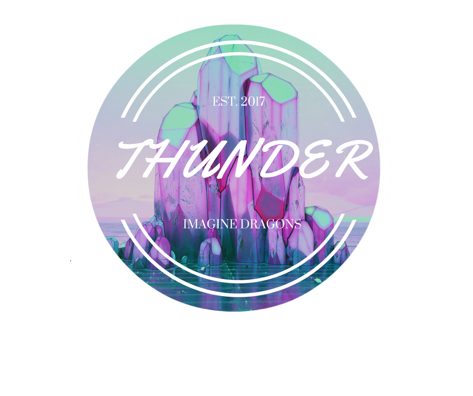 Imagine Dragons Thunder Sticker Mute By Owlhana On Deviantart
