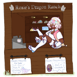 Rosies Dragon Ranch Stand (price added) by Owlhana