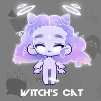 Halloween 2019 - Witch's Cat by Owlhana