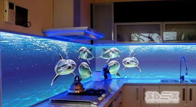 Realistic 3d Kitchen Backsplash Designs 3d Glass B By Gamilaalex20 On Deviantart
