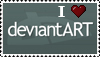 I Love deviantART by MatthewsStamps