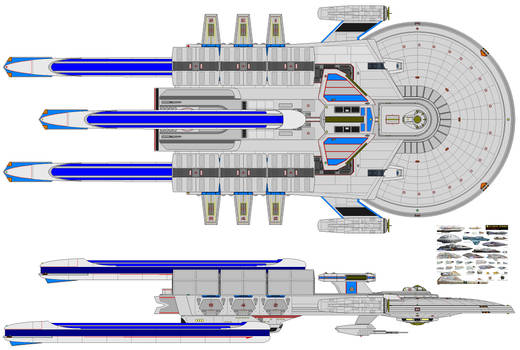 Pioneer-class exploration carrier