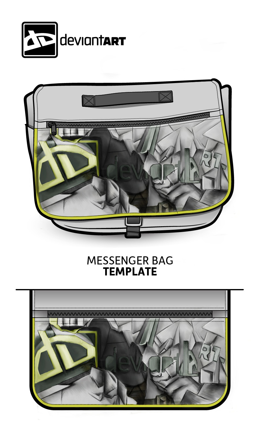 Messenger Bag(Cubism) Contest by phoonaru