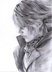 Sketch Final XIII 2hours HB-2B by phoonaru