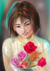 Nozomi Shenmue by phoonaru