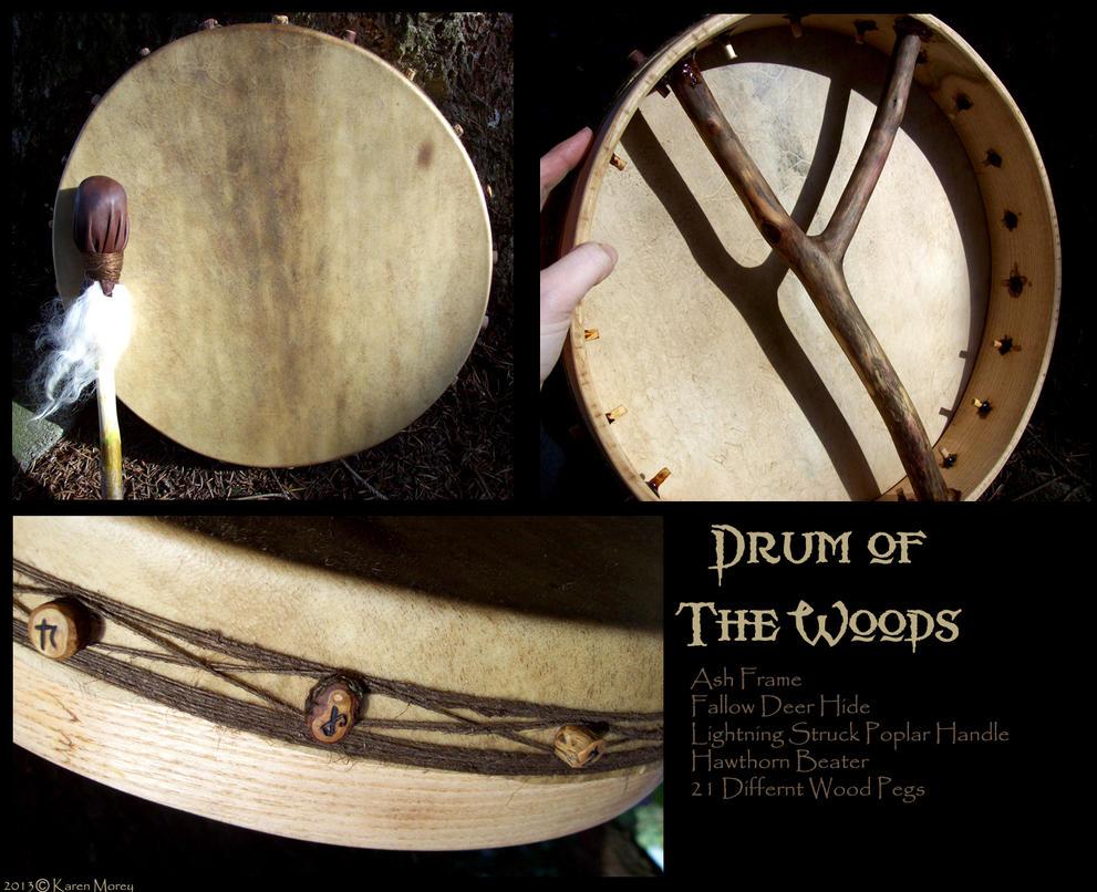 Drum of the woods by savagedryad