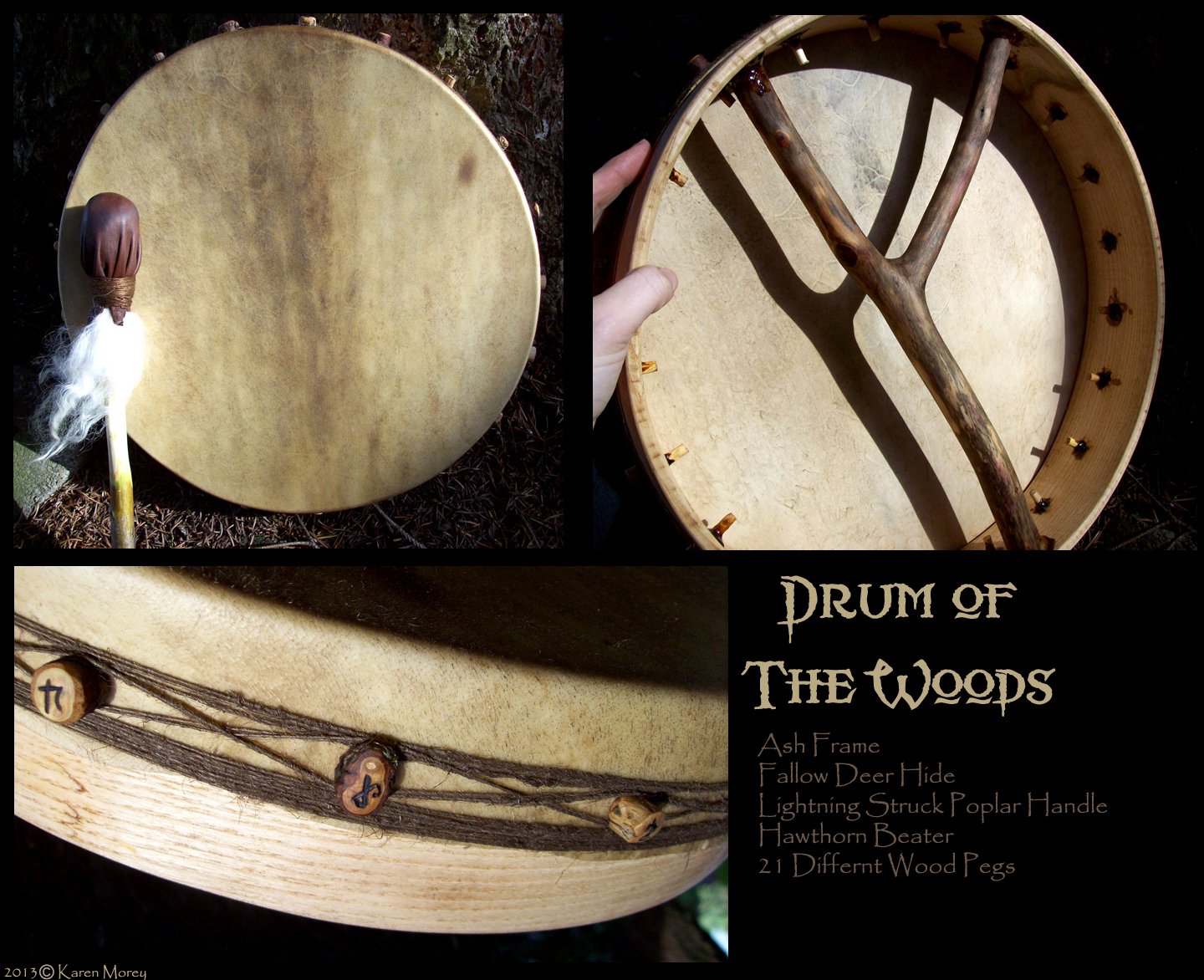Drum of the woods by savagedryad
