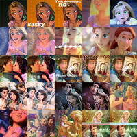 Tangled Icon Batch by BorrowedMiracle