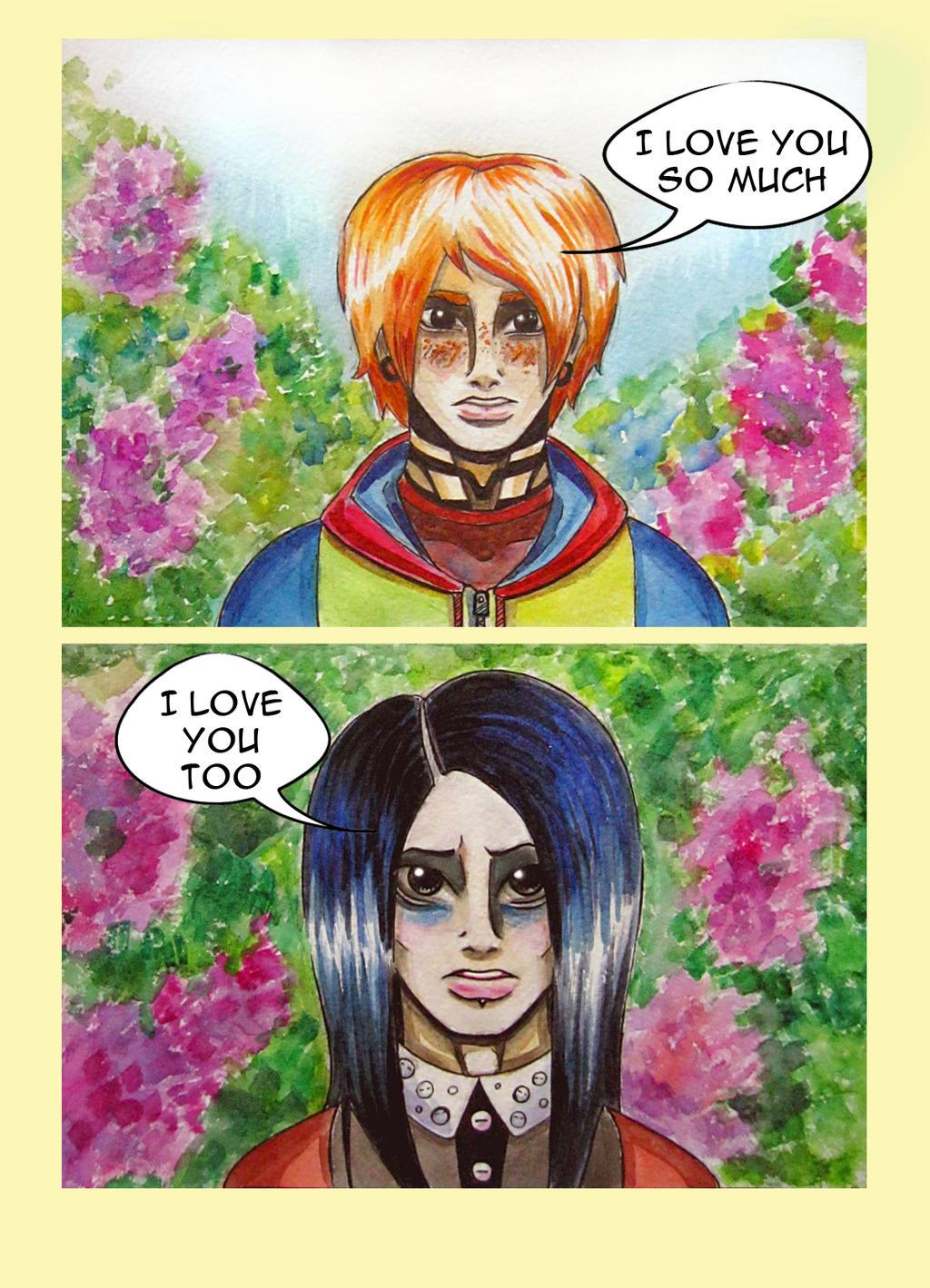 romance by SheWasZombie