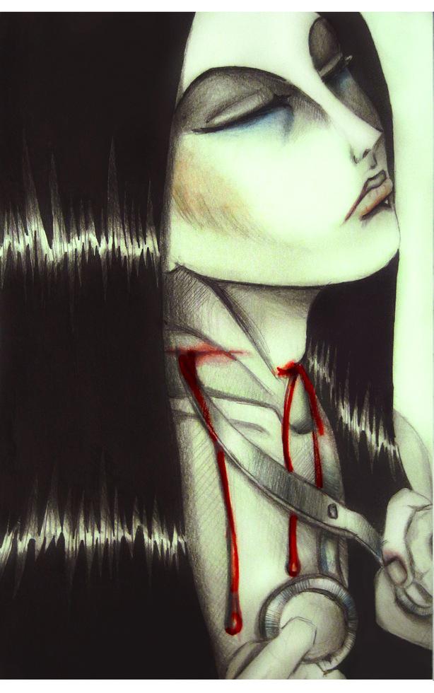 scissors by SheWasZombie