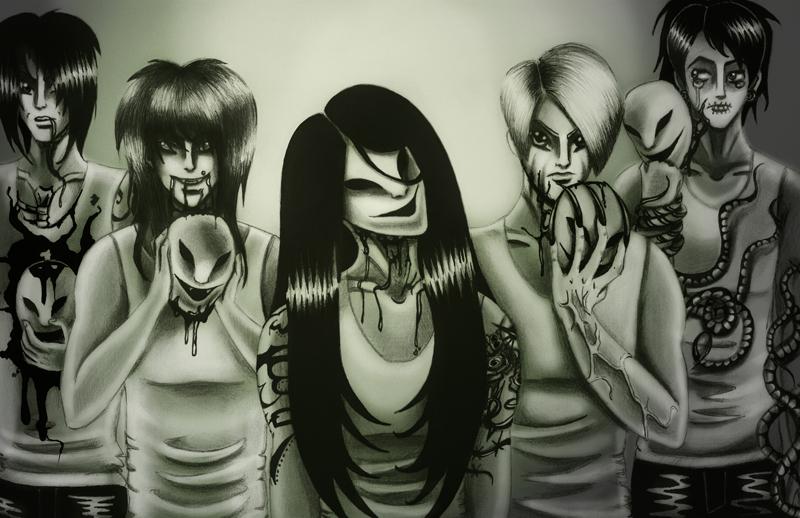 unmask by SheWasZombie