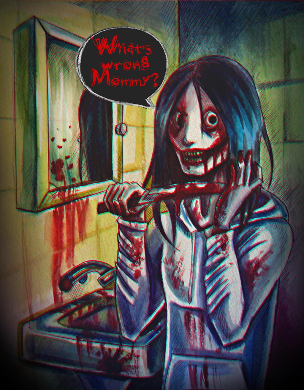 Jeff the killer by SheWasZombie