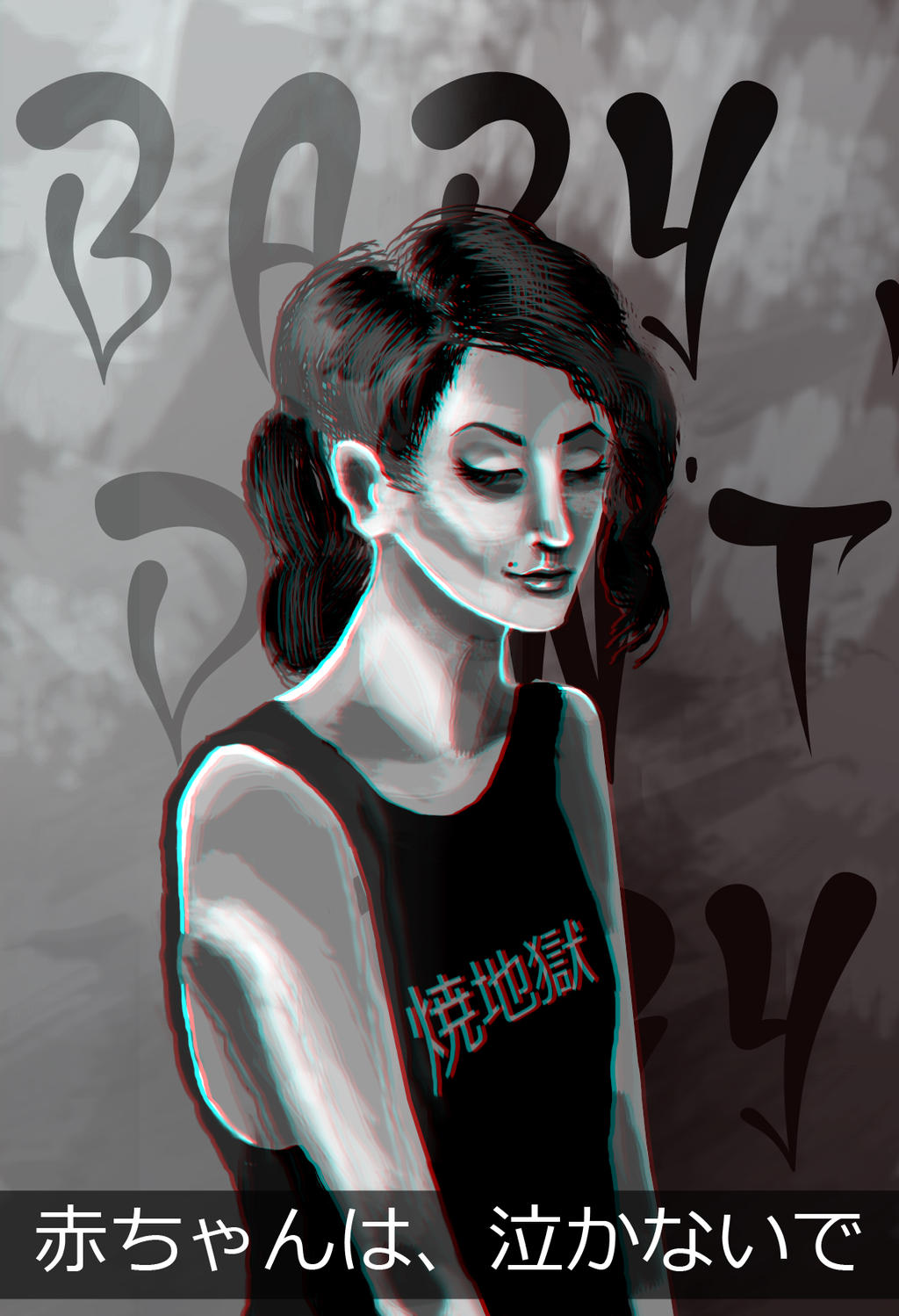 dont cry by SheWasZombie