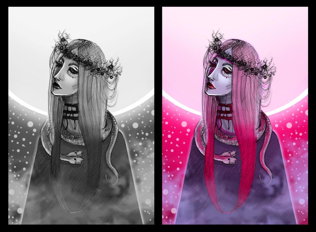Queen of the vampires by SheWasZombie