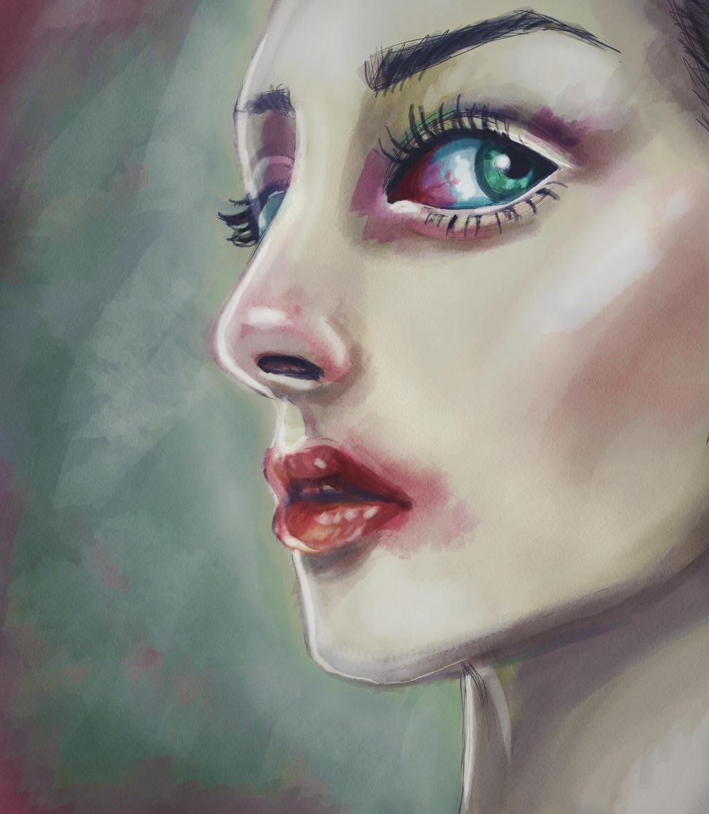 Mila Mortice by SheWasZombie