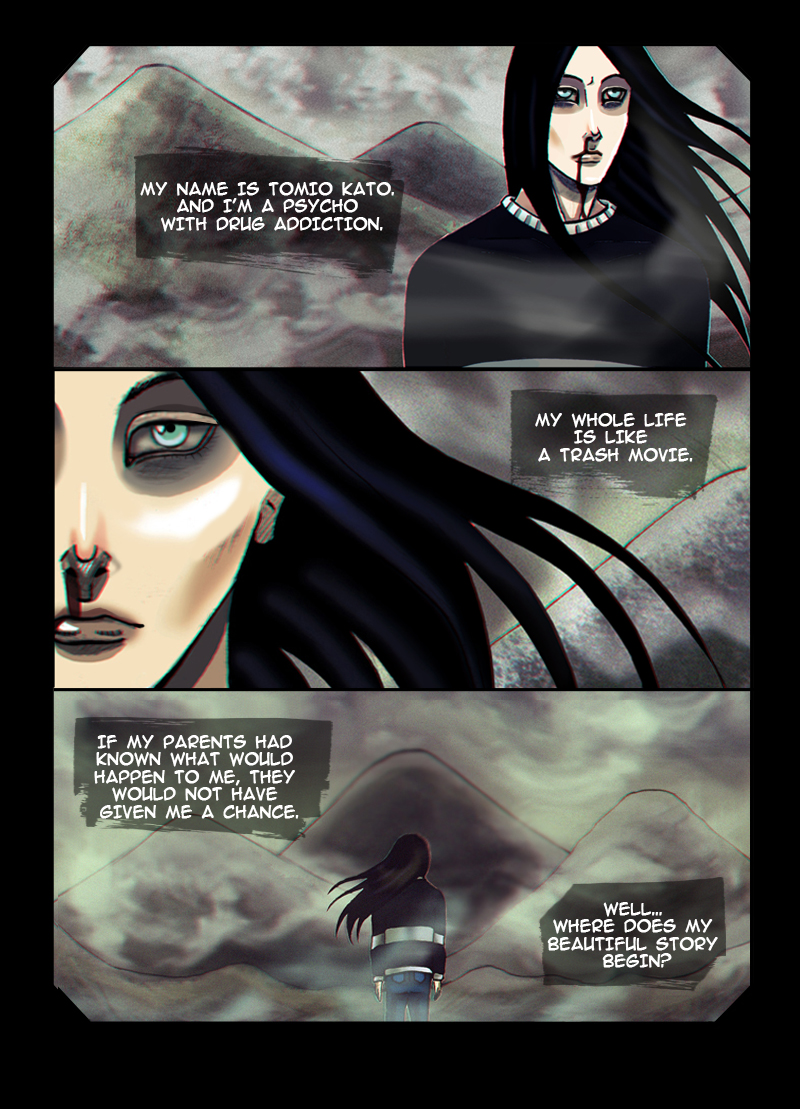 Coma. Page 1 by SheWasZombie