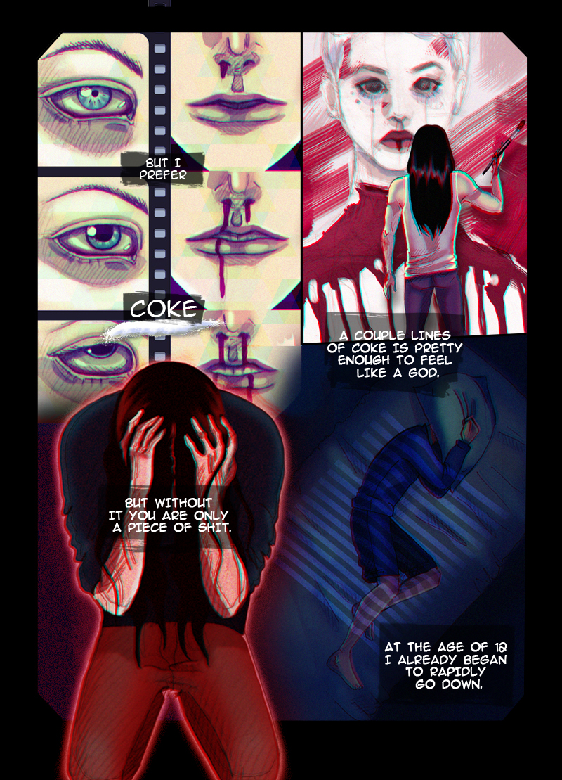 Coma. Page 4 by SheWasZombie