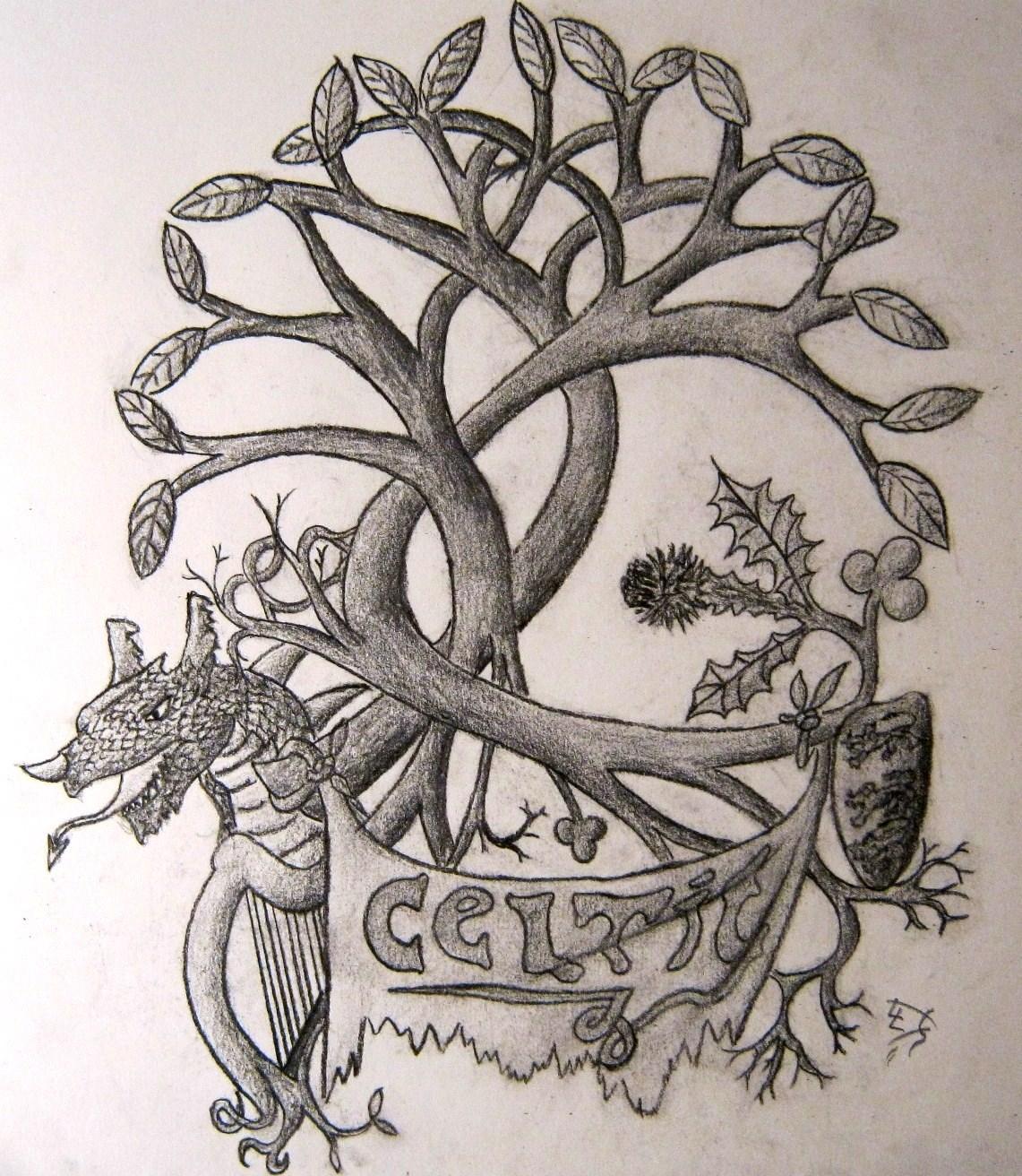 celtic pride tattoo design by pieceofrope on deviantart. Black Bedroom Furniture Sets. Home Design Ideas
