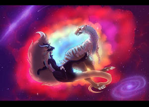[Beauty Contest] Space Dragons by Peurankasvo