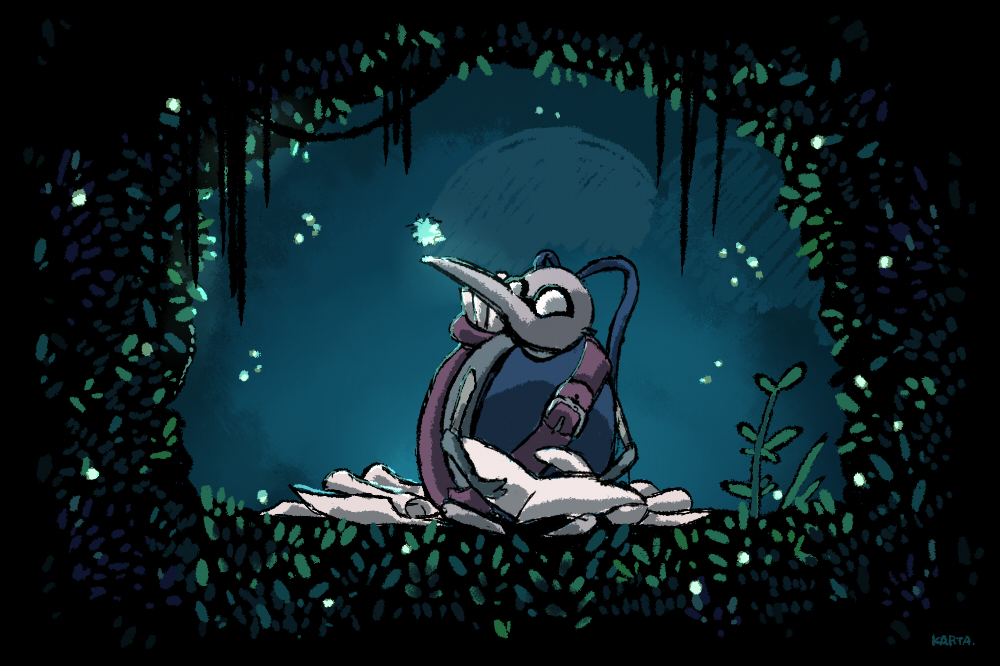 Hollow knight by kartaZene