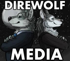 DirewolfCouple BackgroungMoon by DireWolfMedia