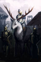The White King by MarkWester