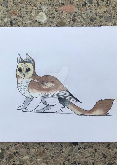 Owl griffin 3 by ArtOfTheSnowWolf
