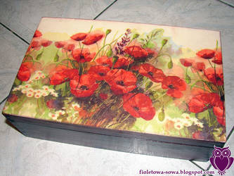 Poppy tea box by Shadowisper
